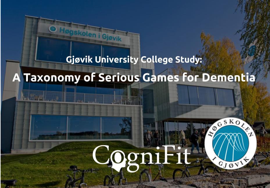 CogniFit ranked by scientists as a serious and effective battery of games to fight dementia