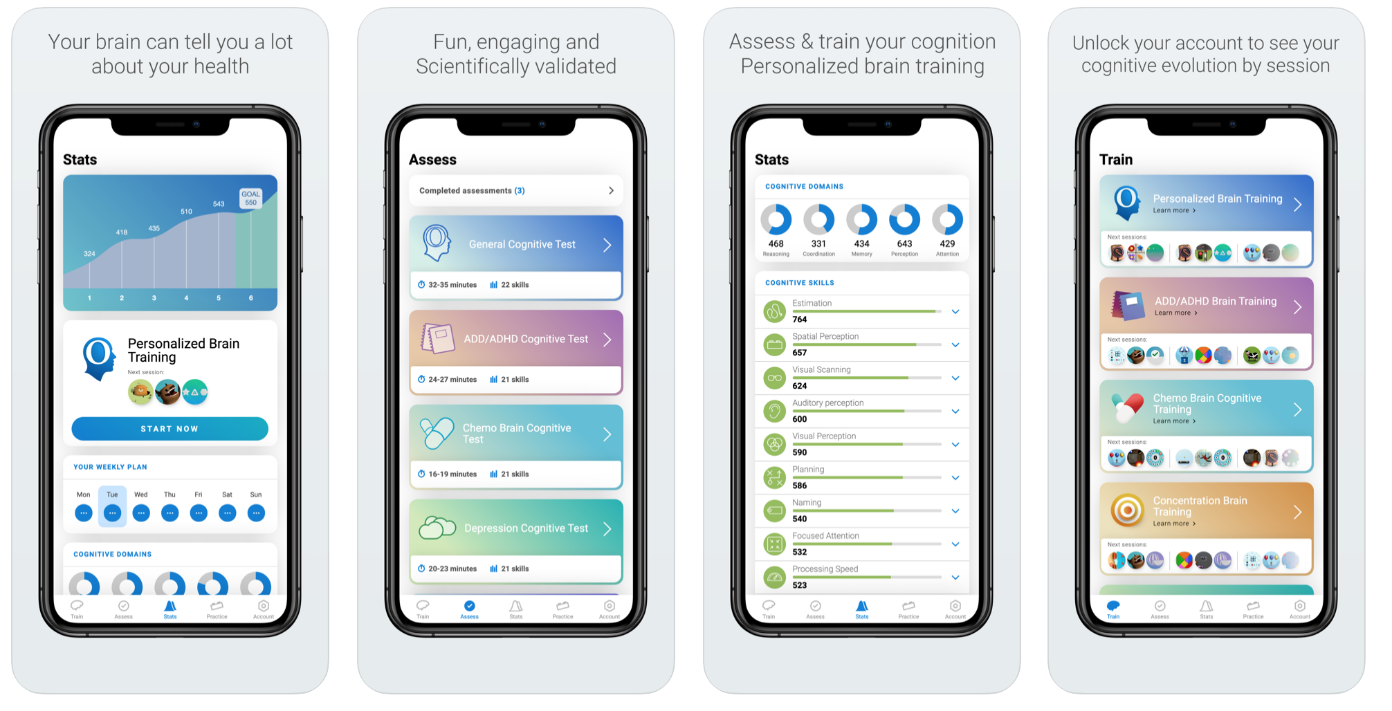 CogniFit 4.0: the new version of CogniFit's cognitive testing and training app
